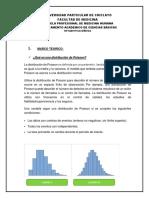 Informe de Distribucion de Paosson