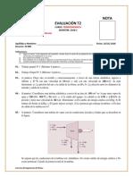 Examen T2 - Termodinamica