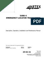 Product Manual G406-4 ARTEX
