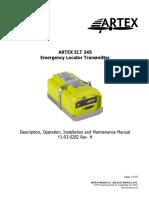 Product Manual ELT 345 ARTEX