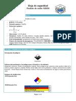 Fosfato de Sodio (MSDS)