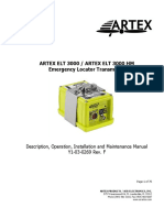 Product Manual ELT 3000 ARTEX
