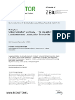 Impact of Urbanization and Localization in Economies