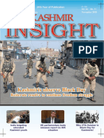 Monthly Kashmir Insight