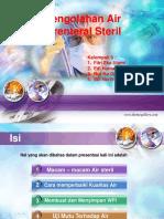 TF Sediaan Steril Pengolahan Air Parenteral Steril