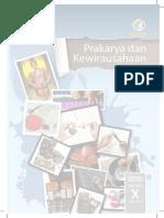 Kelas X Prakarya Dan Kewirausahaan BS Sem 1