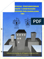 Ntc-gdl-diseño y Construccion de Cimentaciones-1997