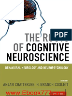 The Roots of Cognitive Neuroscience- Behavioral Neurology and Neuropsychology