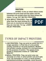 Printer Presentation