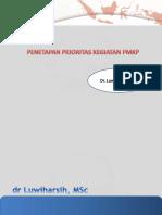 3. .Penetapan prioritas dalam program PMKP - dr. Luwiharsih MSc.pptx