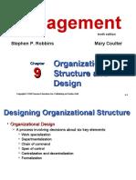 ch9organizationalstructureanddesign-130304101927-phpapp02
