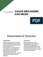 Kinematika dan dinamika mesin.pptx