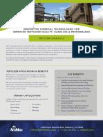 ArrMaz Fertilizer Product Line Benefit Sheet