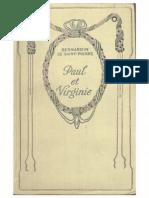 Paul Et Virginie,Bernardin de Saint Pierre