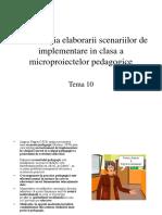 10scenariul Pedagogic