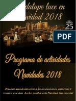 Programa de Navidad Guadalupe 2018