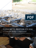 Concrete Repair Guide for Concrete Bridge Components