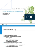 Transmission of Electric Energy