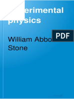 William Abbot - Experimental Physics