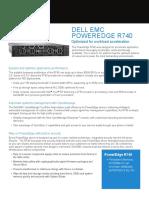 Poweredge r740 Spec Sheet