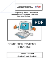 k to 12 Pc Computer Systems Servicing Learning Module