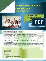 Psikologi Perkembangan Anak Sekolah