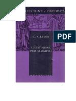 C - C.S. Lewis - Crestinismul Redus La E