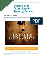 Discipleship Training Manual PDF Copy