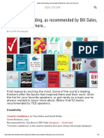 Books Worth Reading, Recommended by Bill Gates, Susan Cain and More