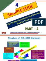 PPT Presentation for HSE Auditor Training