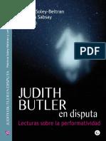 Patricia Soley-Beltran, Leticia Sabsay (Eds.) - Judith Butler en Disputa