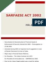 Sarfaesi Act 2002