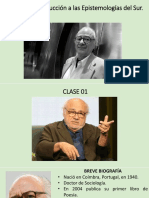 Boaventura de Sousa Santos - Epistemología Del Sur