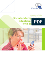 Quality of Life Social and Employment Situayion of People With Disabilities