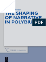 [Trends in Classics. Supplementary Volumes 23] Nikos Miltsios - The Shaping of Narrative in Polybius (2013, Walter de Gruyter)