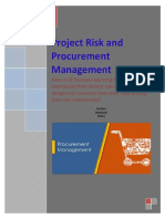 Project Risk and Procurement Assignment