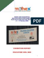 Report-MOHEX Mauritius 09