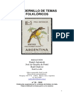 Folklore 20 (Aves)