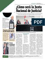 Cómo Será La Junta Nacional de Justicia