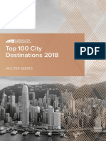 Top 100 City Destinations 2018