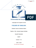 Portfolio English 7th_semester