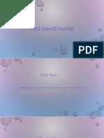 Pole Dance Fajták