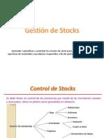Semana 15 Gestión de Stocks