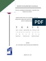 DISEÑO ESTRUCTURAL DE UN EDIFICIO A BASE DE MARCOS DE ACERO PARA OFICINAS UTILIZANDO EL RCDF Y EL METODO LRFD.pdf