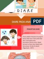 Ppt Diare Pada Anak