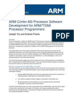Cortex-M3 Programming for ARM7 Developers