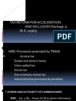 Train p1 vs. Nirc