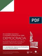 11.Sociedad Civil Democracia Participativa y Nuevos Actores Políticos