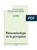 Merleau Ponty, Maurice - Phonomenologie de La Perception