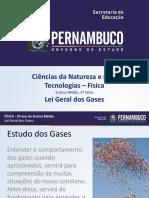 Lei geral dos gases (Equação de Clayperon).pptx